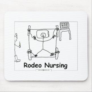 Rodeo Nursing Mouse Pad