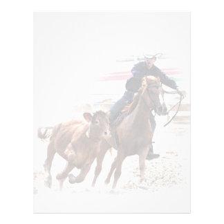 Rodeo or western riding event flyer