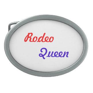 Rodeo Oval Belt Buckle