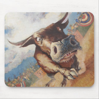 Rodeo pad mouse pad