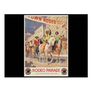 Rodeo Parade Montana Wyoming Post Cards
