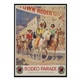 Rodeo Parade Poster