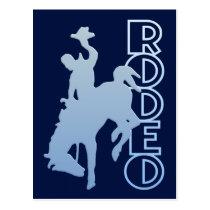 Rodeo postcard, customize postcard