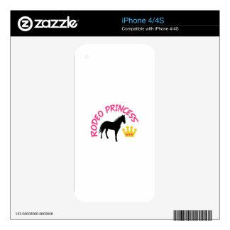 Rodeo Princess iPhone 4 Skins
