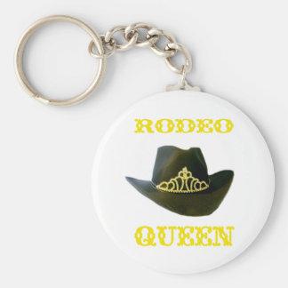 Rodeo Queen Keychain