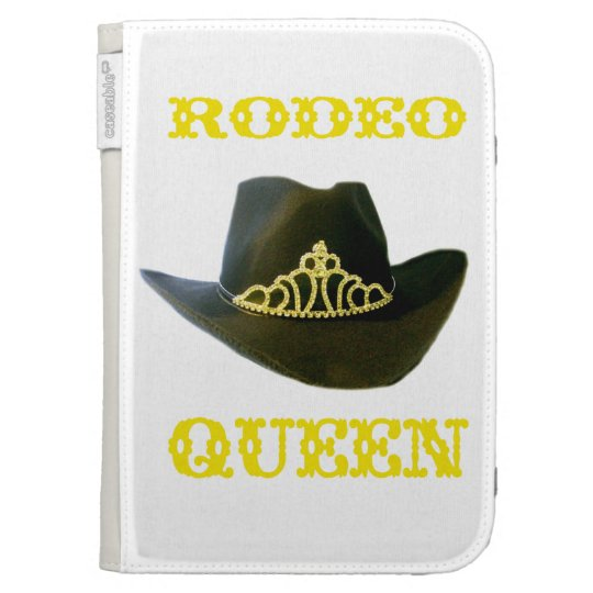 """""""Rodeo Queen"""" Western  Kindle Case"""
