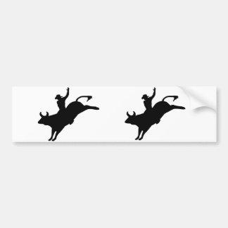 Rodeo Rider Bumper Sticker