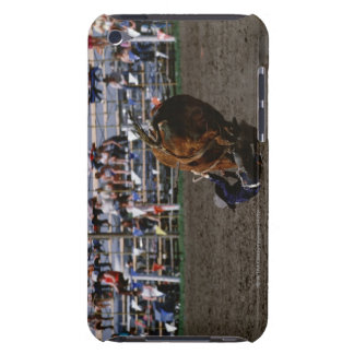 Rodeo rider falling from bull barely there iPod cover