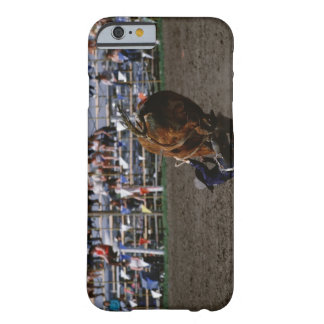 Rodeo rider falling from bull barely there iPhone 6 case