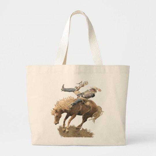 Rodeo Rider Large Tote Bag