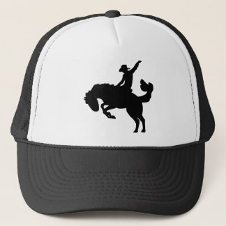 Rodeo Rider on Horseback Trucker Hat