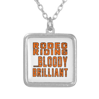 Rodeo Riding Bloody Brilliant Necklaces