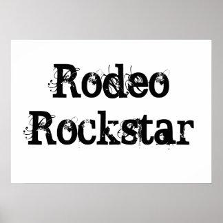 Rodeo Rockstar Poster