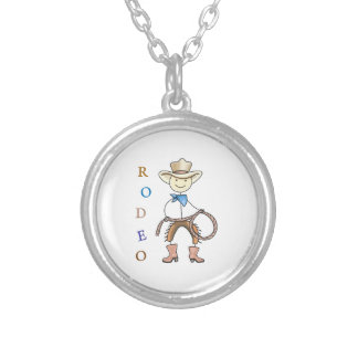 RODEO ROUND PENDANT NECKLACE