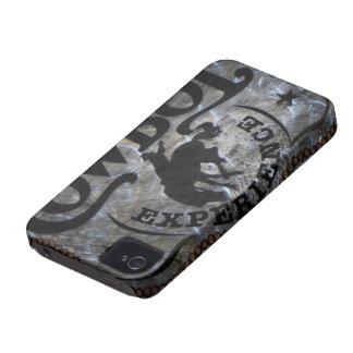 rodeo rústico del vaquero del país occidental del  iPhone 4 carcasa