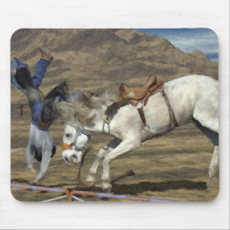 Rodeo - Saddle Bronc - Get Well Soon Mouse Pad