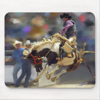 Rodeo - Saddle Bronc Rider - Mad Max Mouse Pad