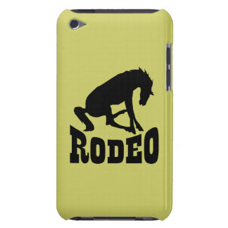 Rodeo Silhouette Barely There iPod Cover