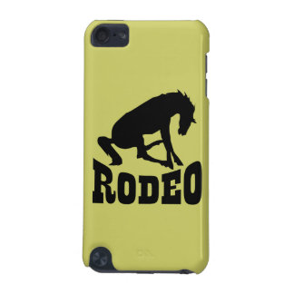 Rodeo Silhouette iPod Touch (5th Generation) Case