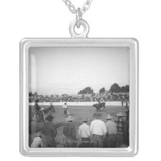 Rodeo Silver Plated Necklace
