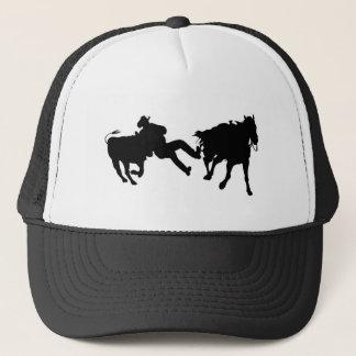 Rodeo - Steer Rasslin' - Steer Wrestling Trucker Hat