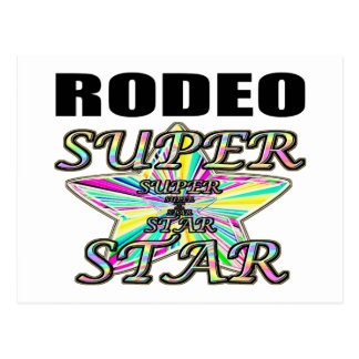 Rodeo Superstar Postcard