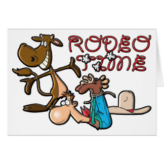 Rodeo Time Card