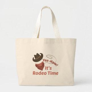 Rodeo Time Jumbo Tote Bag