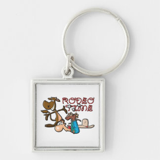 Rodeo Time Keychain