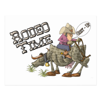 Rodeo Time Postcard