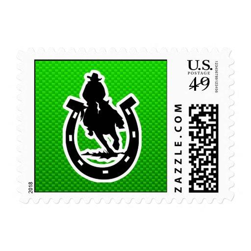 Rodeo verde sellos