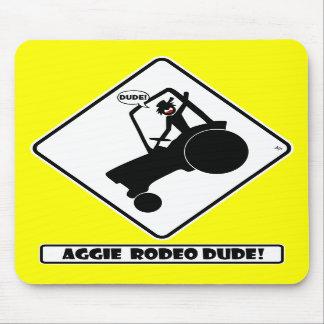 RODEO w1 de AGGIE Tapete De Ratón