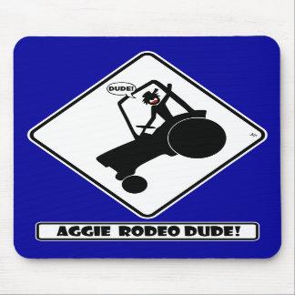 RODEO w1 de AGGIE Tapetes De Ratones