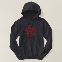 Rodeo Wheel Outline Embroidered Hoodie