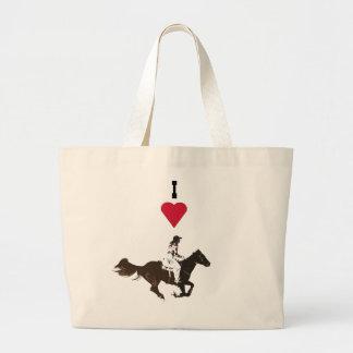 rodeos large tote bag