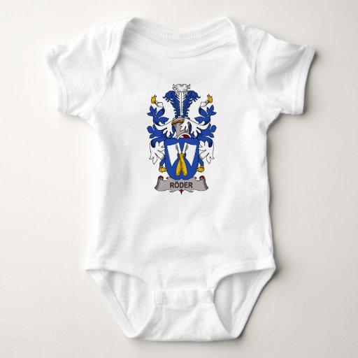 Roder Family Crest T Shirts