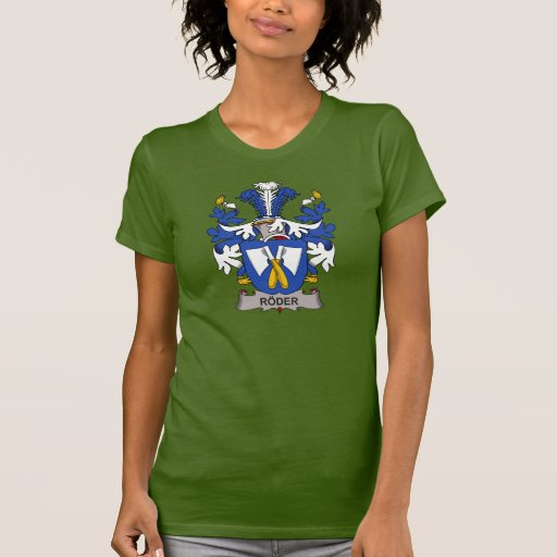 Roder Family Crest Tshirts