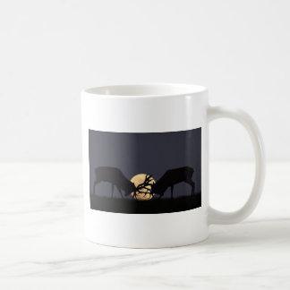 Rodera del claro de luna tazas de café