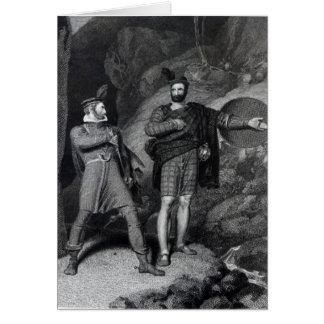 Roderick Dhu and a Clansman Card