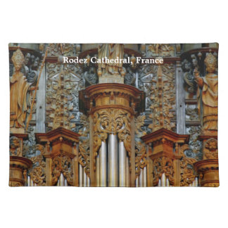 Rodez Cathedral, France Place Mat
