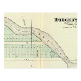 Rodger's Park, adjoining Spring Lake Postcard
