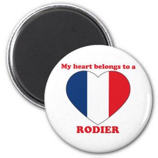 Rodier 2 Inch Round Magnet