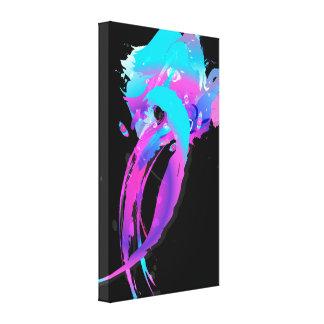 Rodillo abstracto 2 de Breasted de la lila de la s Impresiones En Lienzo Estiradas