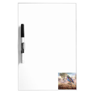Rodillo africano pizarra blanca