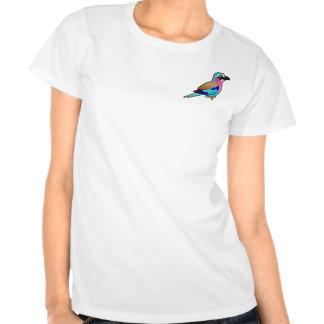 Rodillo de la Lila-breasted Camiseta