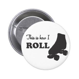 Rodillo Derby - éste es cómo ruedo Pin Redondo 5 Cm