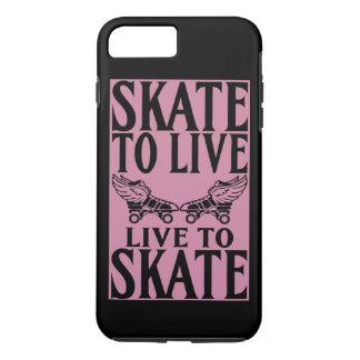 Rodillo Derby, patín a vivir vivo para patinar Funda iPhone 7 Plus
