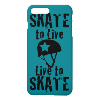 Rodillo Derby, patín a vivir vivo para patinar, Funda Para iPhone 7 Plus