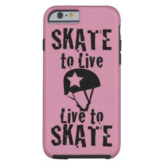 Rodillo Derby, patín a vivir vivo para patinar, Funda Resistente iPhone 6