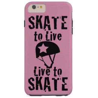 Rodillo Derby, patín a vivir vivo para patinar, Funda Resistente iPhone 6 Plus